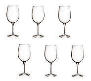 Luigi Bormioli 16.25-oz Palace Wine Tasting Glasses - Set of 6 - H364909
