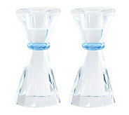 Copa Judaica Blue Ribbon Candlesticks - H155810