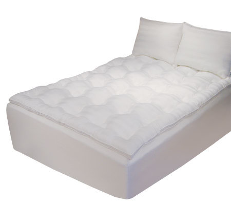 Memory Loft Deluxe Queen Mattress Topper H — QVC