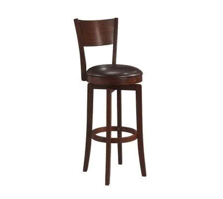 Hillsdale Furniture Archer Swivel Counter Stool Qvc Com