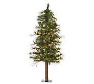 4 Mixed Country Alpine Tree w/ Clear Lights byVickerman - H183410
