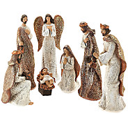 7-piece Nativity Figure Set by Valerie - H206310