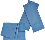 Serta SuperSoft Microfiber CK Sheet Set with Nanotex and Extra Cases - H211710