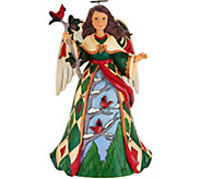 Jim Shore Heartwood Creek Angel with Cardinals Figurine - H212510