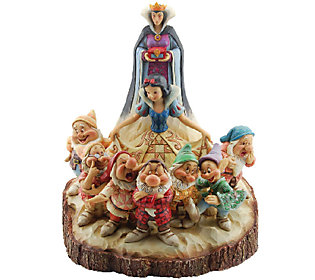 Jim Shore Disney Traditions Wood Carved Snow White Figurine
