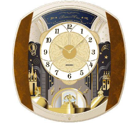 Seiko Marquis Melody In Motion Wall Clock Qvc Com
