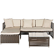 Safavieh Likoma 3-Piece Sectional Outdoor Set - H286210