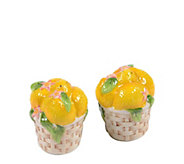 Temp-tations Figural Fruit Salt and Pepper Shakers - H288810