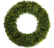 Pure Garden 20 Round Grass Wreath - H291710