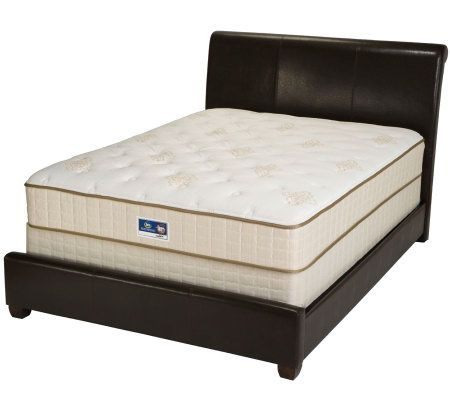 Serta Remedy Plush Full Mattress Set Page 1 — QVC