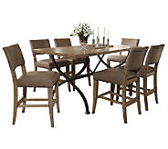 Hillsdale Charleston 7pc Ctr Ht Rect Dining Setw/Parson Chair - H358710