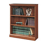 Sauder Camden County Collection Cherry Finish 3-Shelf Bookcas - H116211