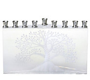 Copa Judaica Etz Chaim Tree of Life Menorah - H144511