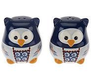 Temp-tations Old World Owl 2-pc Salt and Pepper Shaker Set - H201211