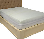 PedicSolutions 3 Cal King Gel Memory Foam Mattress Topper with Cover - H201711