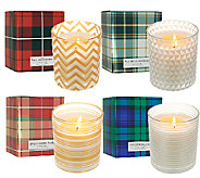 ED On Air 9.5oz. Set of 4 Candles with Gift Boxes by Ellen DeGeneres - H204011