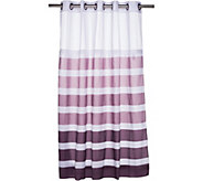 Hookless Ombre Stripe 3 in 1 Shower Curtain - H209011