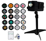 As Is Mr. Christmas Light show Projector with Motion & 20 Discs CA - H210311