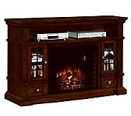 ChimneyFree Belmont Media Mantel Fireplace Infrared Heater - H282411