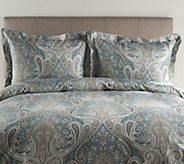 100Cotton Crystal Palace King Duvet Cover andShams Set - H287311