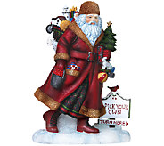 Limited Edition Door County Santa Figurine by Pipka - H287611