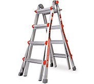 Little Giant Super Duty 24-in-1 Adjustable Multipurpose Ladder - H287811
