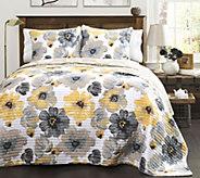 Leah 3-Piece King Quilt Set by Lush Decor - H288011