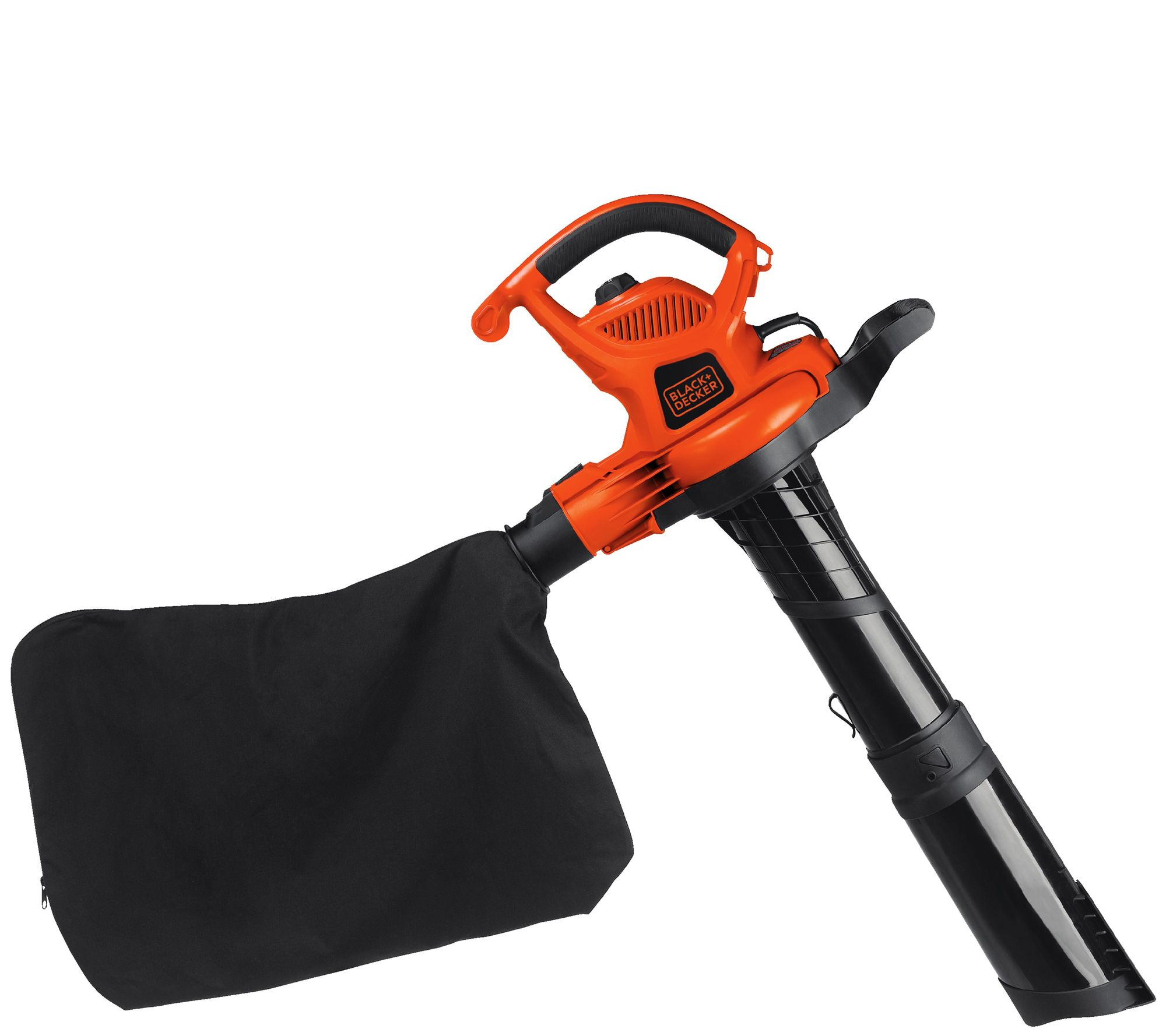 Black Amp Decker 12 Amp Blower Vac Mulcher Qvc Com