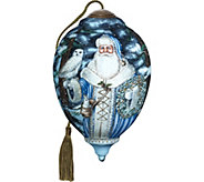 6.75 Limited Edition Santa of the North Ornament By NeQwa - H294211