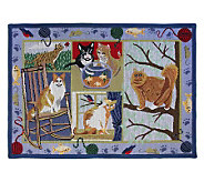 Cat Days 19x27 Tapestry Rug - H349211