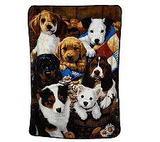 Luxe Velour Oversized 60 X 80 Cozy Animal Throw image
