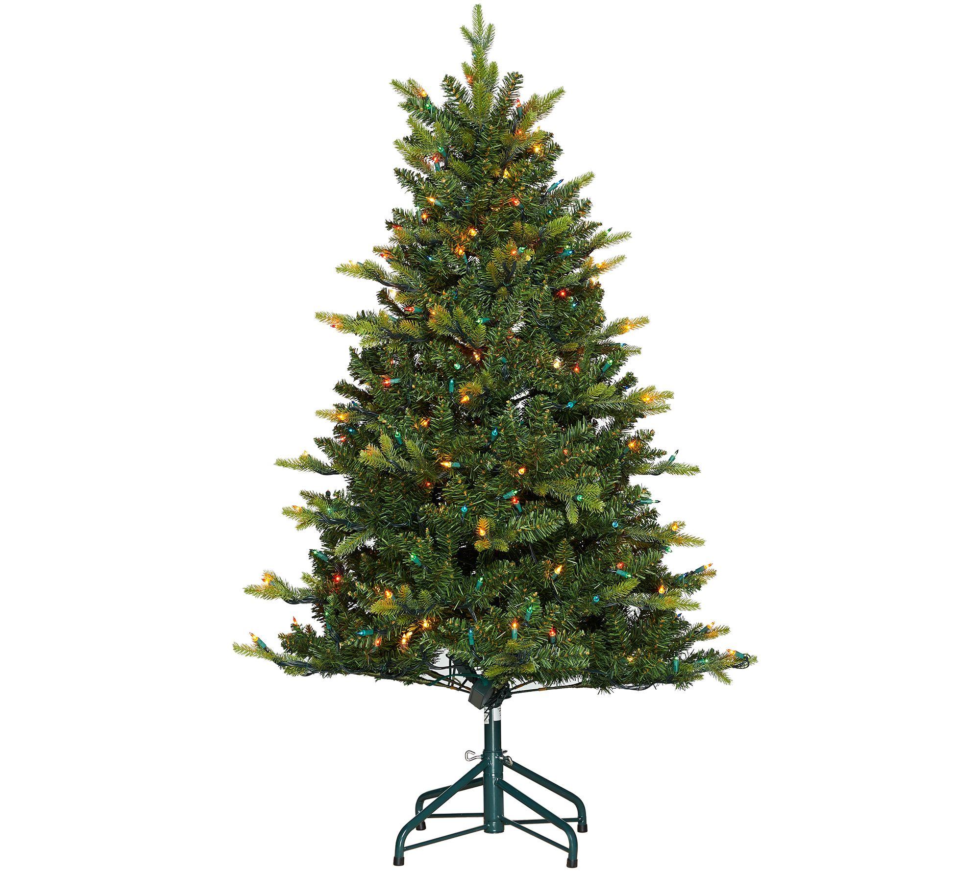 Bethlehem Lights 5' Grand Fir Tree With Swift Lock