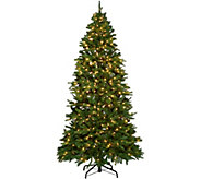 Ultima 5-7.5 Convertible Size Tree w/ Color Changing LED Lights - H210512