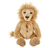 Charlie Bears Collectible 17.5 Linus Plush Lion Bear - H215112