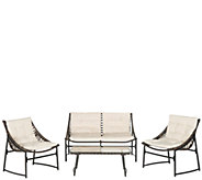 Safavieh Berkane 4-Piece Outdoor Set - H286212