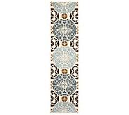 Safavieh Capri Collection Overdye 23 x 9 Wool & Viscose Rug - H362712