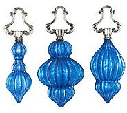 Set of 3 Swinging from the Chandelier Ornaments - H200713