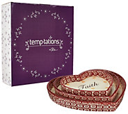 Temp-tations Old World S/3 Nested Heart Lid-its and Gift Box - H206913