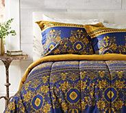 Celtic European Design Full Comforter Set with Two Shams - H212613