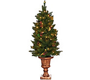 As Is Bethlehem Lights 4 Indoor/Outdoor Lit Urn Tree - H213913
