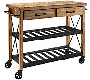 Crosley Roots Rack Industrial Kitchen Cart - H286713