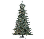 7.5 Prelit Frosted Crystal Balsam Tree by Valerie - H286913
