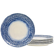 Tabletops Gallery 11 Round Melamine Dinner Pla te Set - H289313