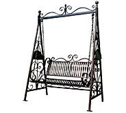 Design Toscano Rockaway Garden Swing - H294113