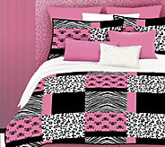 Veratex Pink Skulls Twin Comforter Set - H351613