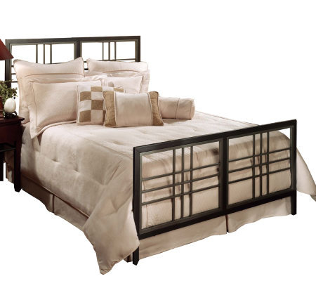 Hillsdale Furniture Tiburon Full Bed Magnesium Pewter