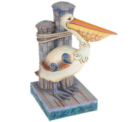Jim Shore Heartwood Creek Pelican Figurine Qvc Com