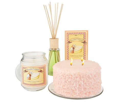5-Piece Heartfelt Home Fragrance Collection by Valerie