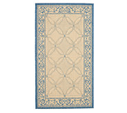 Safavieh Courtyard Lattice Flower 27 x 5 Rug - H179014