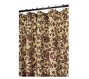 Watershed 2-in-1 Floral Swirl 72x72 Shower Curtain - H184814
